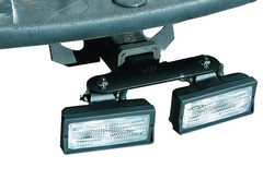 KC Hilites Trailer Hitch Light Mount