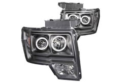 Mercedes-Benz E350 Anzo Headlights