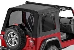 Jeep Wrangler Bestop Sunrider Soft Top