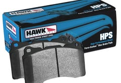 Chrysler Crossfire Hawk HPS Performance Street Compound Brake Pads