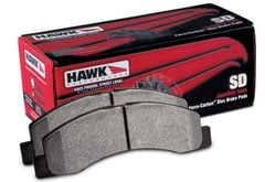 Chevrolet Malibu Hawk HP Superduty Brake Pads