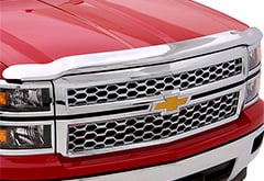 Chevy AutoVentshade Chrome Hood Shield
