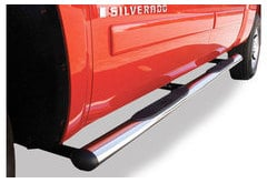 Ford F-550 Bully Oval Step Bars