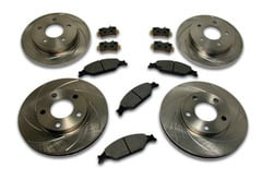Jeep Wagoneer SSBC Short Stop Slotted Rotor Kit