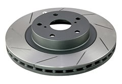 Jeep Wrangler DBA Slotted Series Rotors