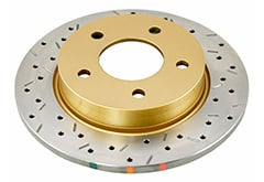 Honda Civic del Sol DBA Gold Series Rotors
