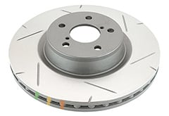 Jeep Wrangler DBA 4000 Series Rotors
