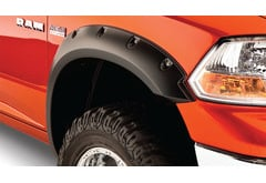 Ford F-550 Bushwacker Pocket Style Fender Flares