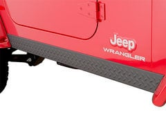 Jeep Wrangler Bushwacker Trail Armor Rocker Panels