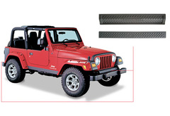 Jeep Wrangler Bushwacker Trail Armor Front & Rear Accent Panels