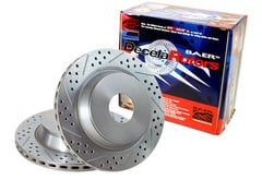 Jeep Baer Decela Brake Rotors