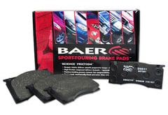 Jeep CJ6 Baer Sport-Touring Brake Pads
