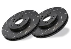 Lincoln Zephyr EBC Ultimax Slotted Rotors