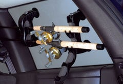Mitsubishi Raider Inno Window Mount Fishing Rod Rack