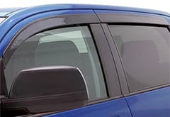Ford F250 AutoVentshade Seamless Window Deflectors