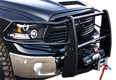 Ford F350 Go Rhino Winch Mount Grille Guard