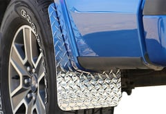 Ford F-350 Dee Zee Metal Mud Flaps
