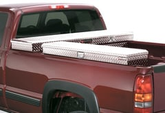 GMC Sierra Pickup Deflecta-Shield Challenger Side Mount Truck Toolbox