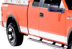 Chevrolet Silverado Pickup Dee Zee Stainless Steel Side Molding