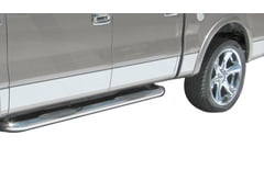 Mercedes-Benz S500 Dee Zee U-Cut Chrome Rocker Panels