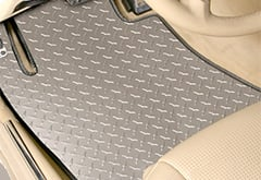 Porsche Panamera Intro-Tech Diamond Plate Floor Mats