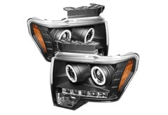 Mercedes-Benz C350 Spyder Headlights