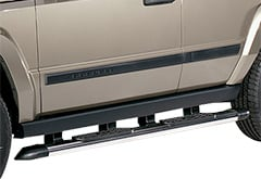 Nissan Titan Lund StepRails Aluminum Side Steps