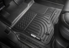 Mercedes-Benz ML350 Husky Liners WeatherBeater Floor Liners
