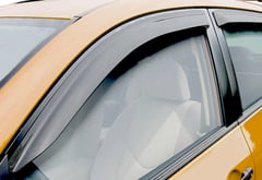 Nissan Frontier Wade Slim Line Window Deflectors