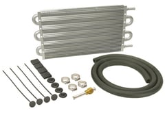 Chevrolet Silverado Derale Dyno-Cool Series 6000 Tube & Fin Transmission Cooler Kit
