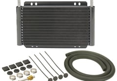 Jeep CJ6 Derale Series 8000 Plate & Fin Transmission Cooler Kit