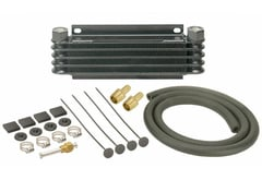 Jeep CJ6 Derale Series 9000 Plate & Fin Transmission Cooler Kit