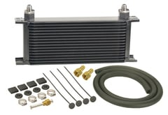 Jeep CJ6 Derale Series 10000 Stacked Plate Transmission Cooler Kit