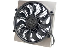 Honda Accord Derale Single High Output Electric Radiator Fan