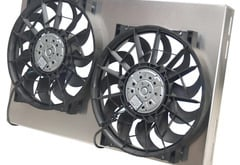 BMW 1-Series Derale Dual High Output Electric Radiator Fan