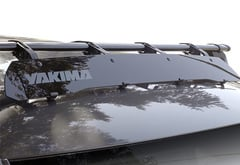 Kia Optima Yakima Roof Rack Wind Fairing