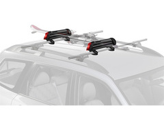Dodge Colt Yakima PowderHound Ski Rack & Snowboard Rack