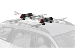 BMW 525i Yakima PowderHound Ski Rack & Snowboard Rack