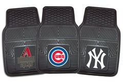 Bentley Continental Fanmats MLB Vinyl Floor Mats