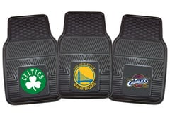Tesla Model S Fanmats NBA Vinyl Floor Mats