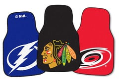 Kia Borrego Fanmats NHL Carpet Floor Mats
