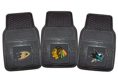 Jeep CJ-3B Fanmats NHL Vinyl Floor Mats