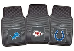 Bentley Continental Fanmats NFL Vinyl Floor Mats