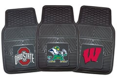 Jeep CJ6 Fanmats NCAA Vinyl Floor Mats
