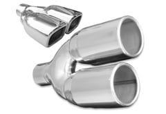Lincoln Aviator Cherry Bomb Dual Exhaust Tip