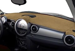 Lincoln Aviator Coverking Velour Dash Cover