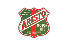 Aristo Motor Oil Vintage Sign by SignPast