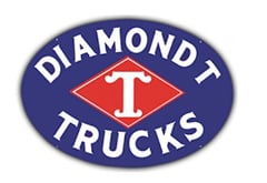 Diamond T Trucks Vintage Sign by SignPast