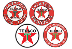 Texaco Vintage Sign by SignPast