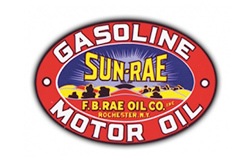 Sun-Rae Gas Vintage Sign by SignPast
